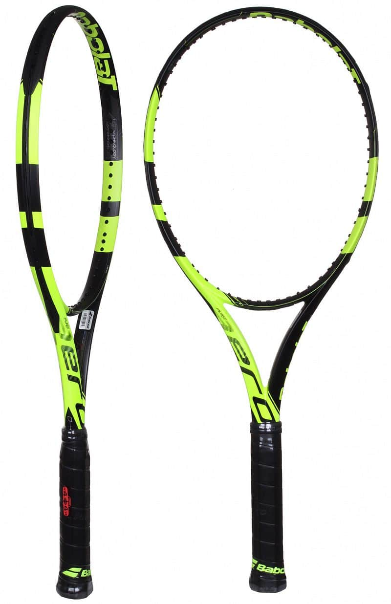 Pure Aero 2016 tenisová raketa test 3