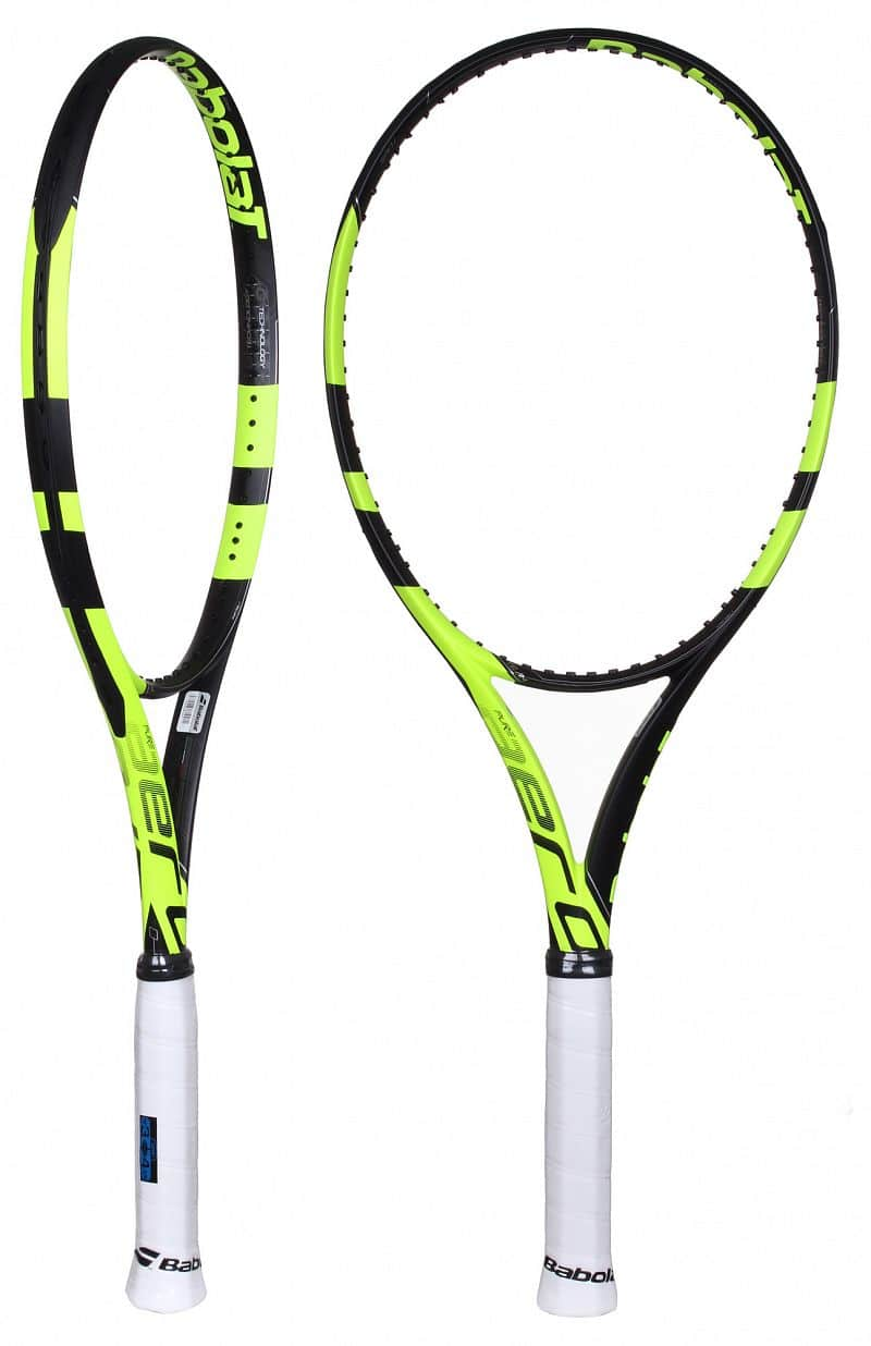 Pure Aero Team 2016 tenisová raketa test 2