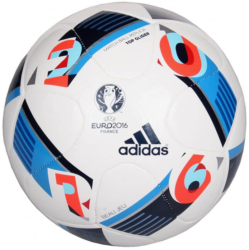 EURO 2016 Top Glider fotbalový míč č. 4