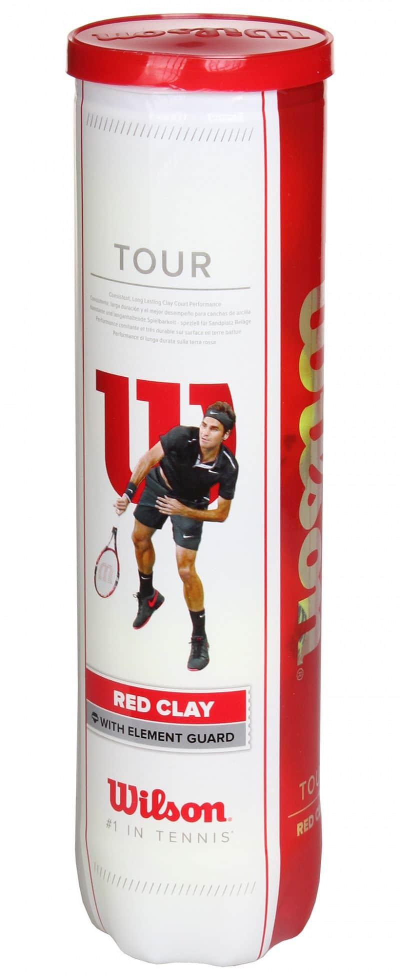 Tour Red Clay tenisové míče 4 ks