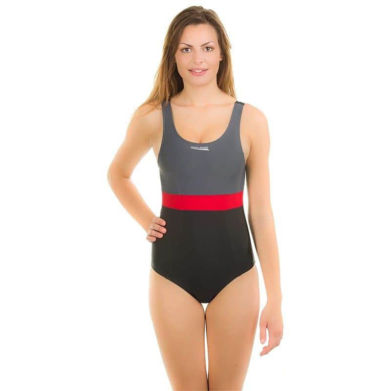 Sylwia dámské plavky 40 černá-růžová 7b6ffaaca9