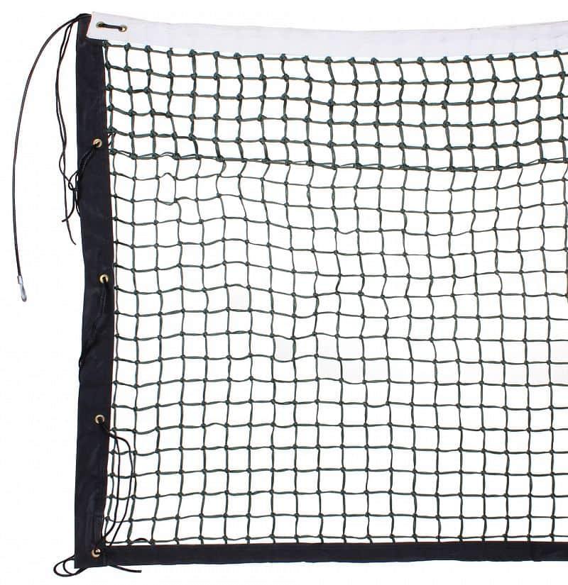 tenisová síť TN 32 D dvojitá, lanko černá