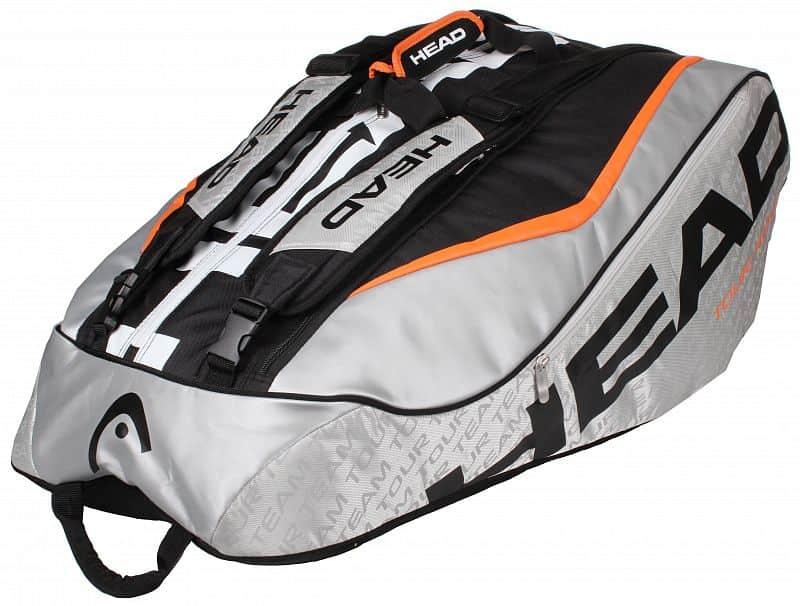 Tour Team 12R Monstercombi 2016 taška na rakety stříbrná