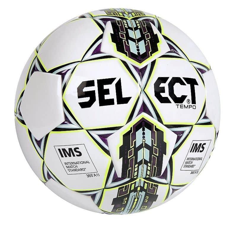TB Tempo fotbalový míč č. 5;bílá