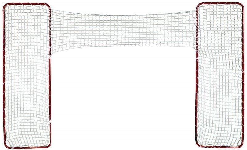 postranní konstrukce na hokejovou branku Target včetně sítě, 2ks