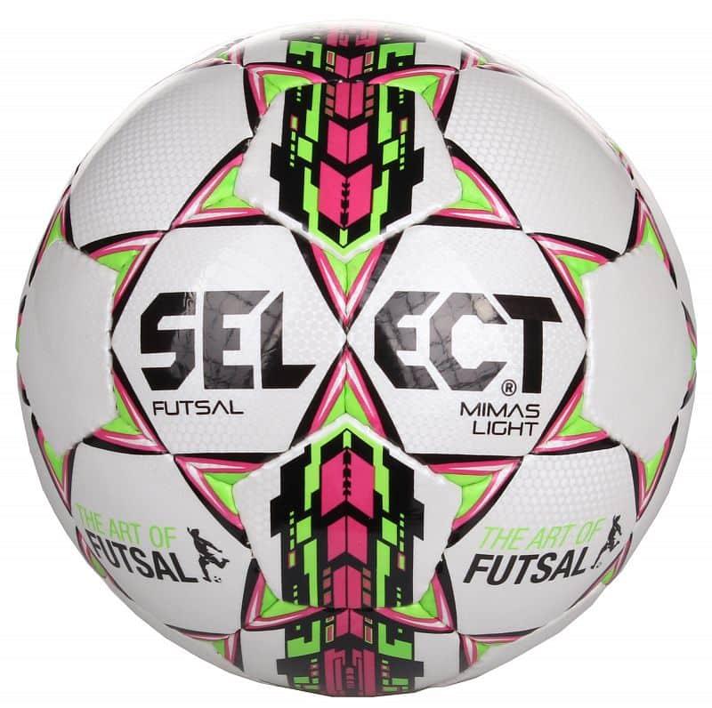 FB Futsal Mimas Light futsalový míč č. 4;bílá-fialová