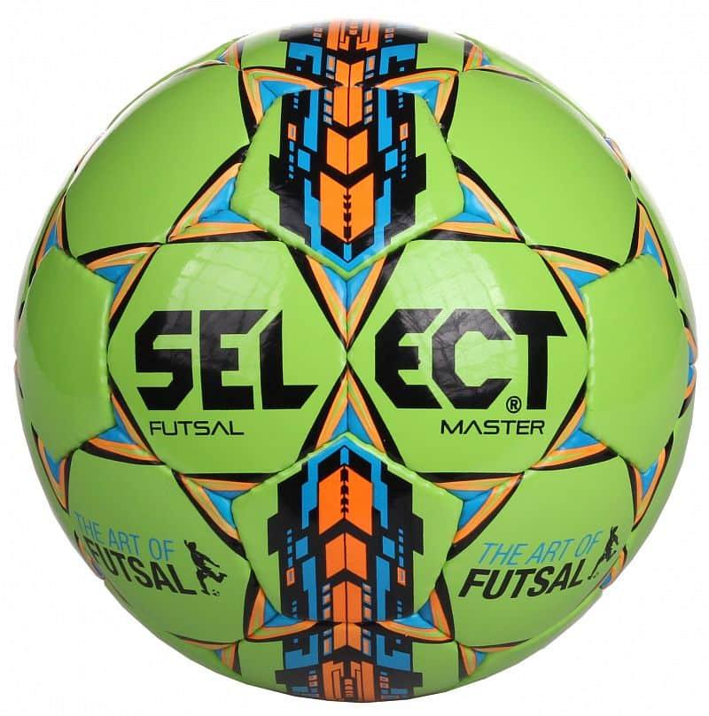 FB Futsal Master futsalový míč č. 4;zelená-modrá