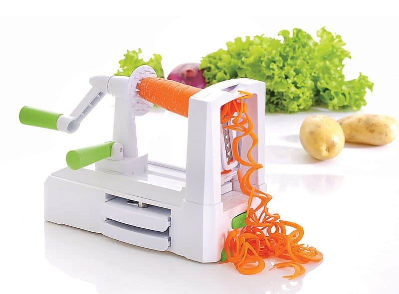 Spiralizér - kráječ zeleniny a ovoce - špagetovač