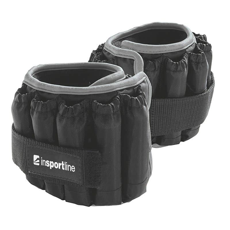 Nastavitelná kotníková závaží inSPORTline Ankler X 2x2,25 kg