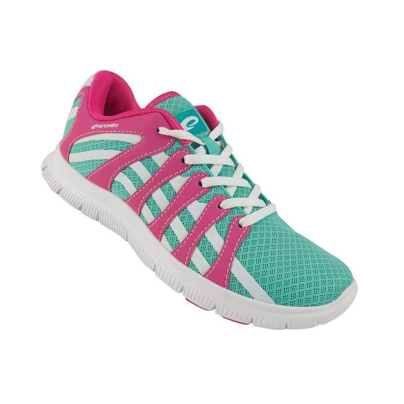 LIBERATE 7 Běžecké boty zelená - růžová vel.37