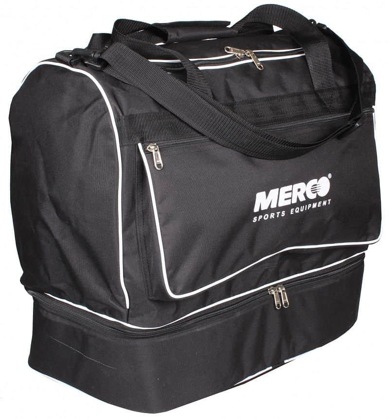 fotbalová taška dvojité dno barva: černá