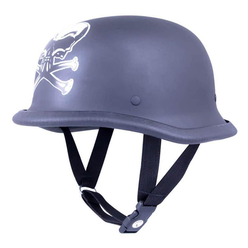 Retro otevřená moto helma Sodager Dead Head Velikost L (59-60)
