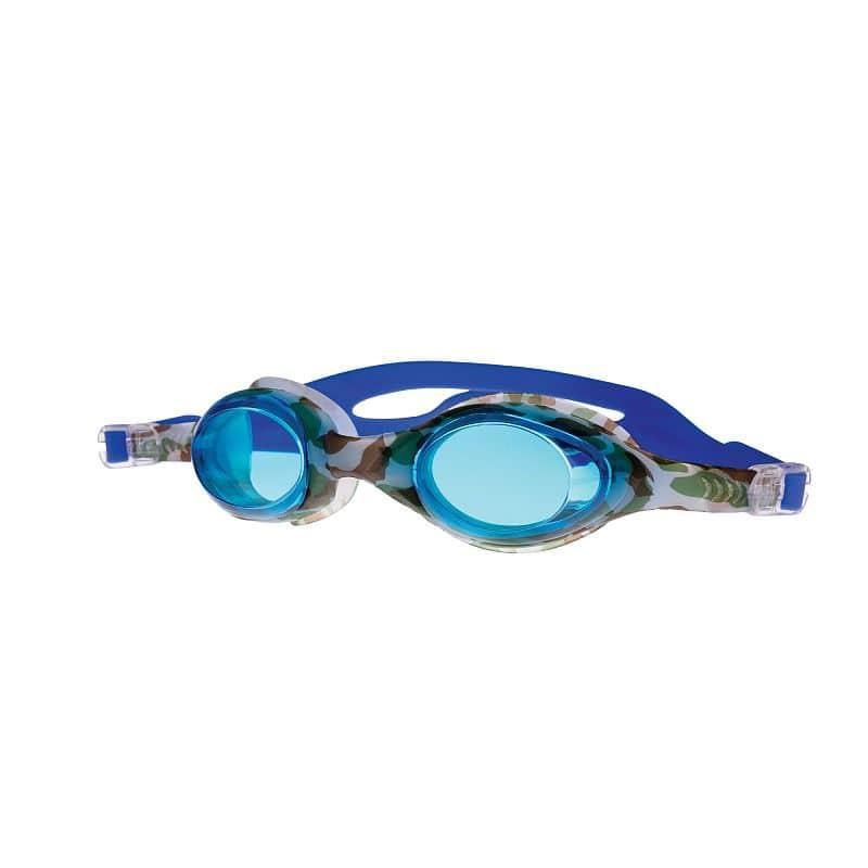 BARBUS Plavecké brýle modré s potiskem