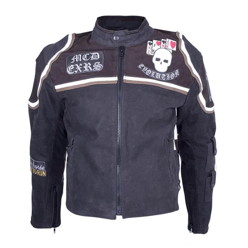 Kožená moto bunda Sodager Micky Rourke Velikost 4XL
