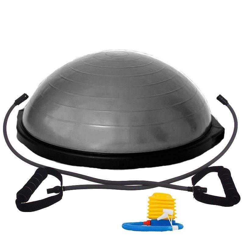 Balanční podložka Trainer LivePro stříbrná 63 cm x 22 cm