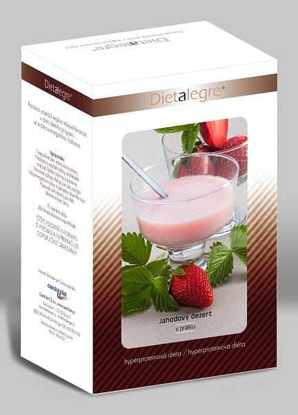 Dietalegre - Proteinová dieta horká čokoláda