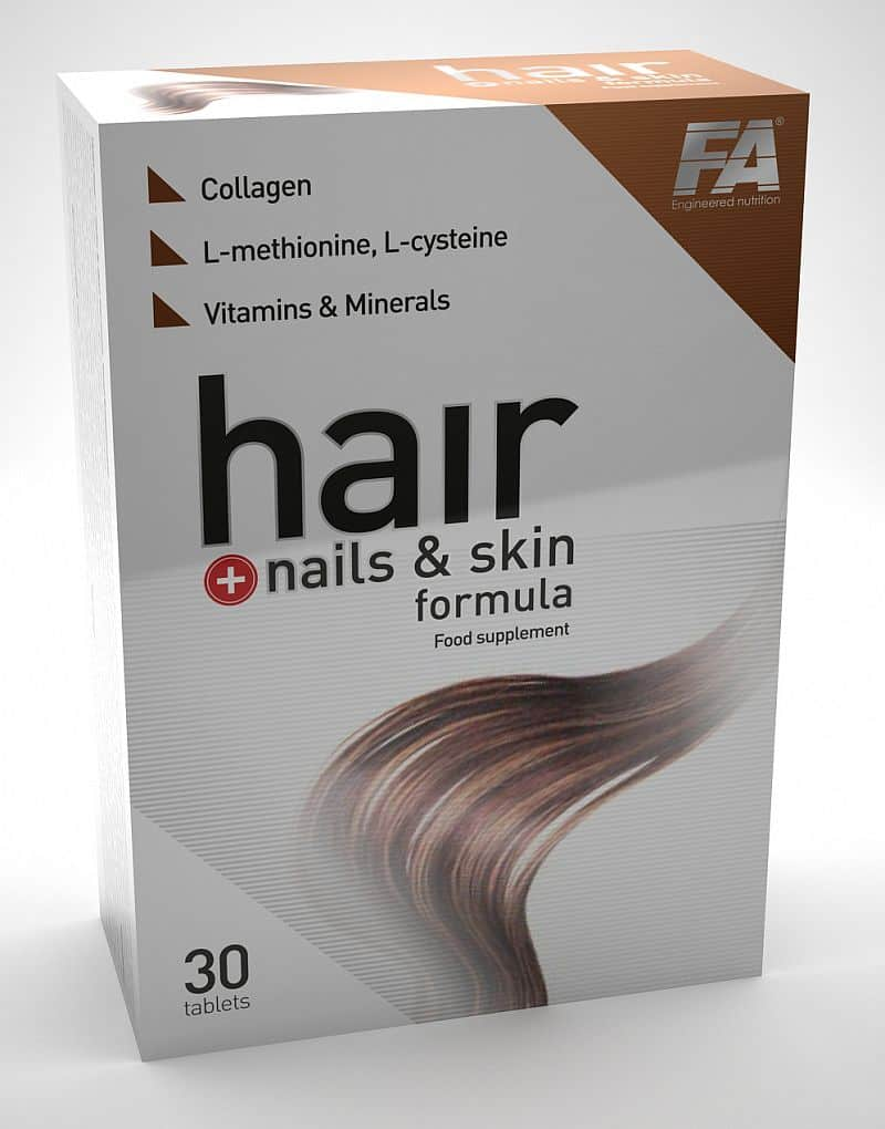 HAIR, SKIN AND NAIL FORMULA 30tbl - VÝPRODEJ