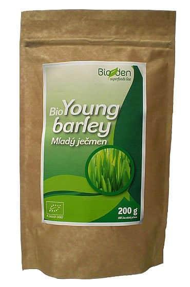 BIO mladý jačmeň (Green Barley) – 200 g - VÝPREDAJ