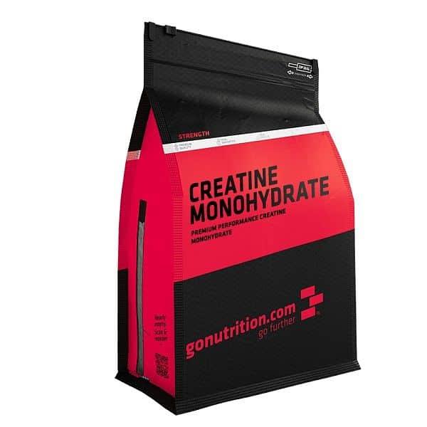 GoNutrition Creatine Monohydrate - VÝPRODEJ 100 g
