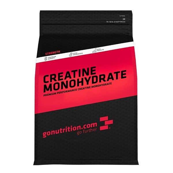 GoNutrition Creatine Monohydrate - VÝPRODEJ