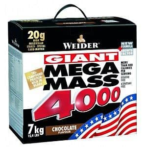 Giant Mega Mass 4000 - Weider - VÝPRODEJ 3000g Jahoda