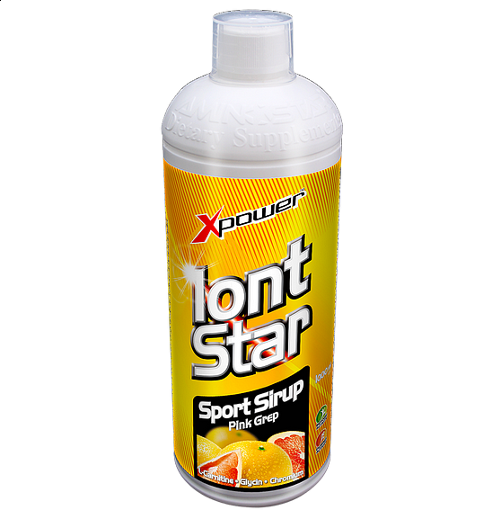 IontStar Sport Sirup - VÝPRODEJ 1000ml citron