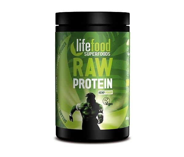 Raw konopný protein BIO 450 g - VÝPRODEJ