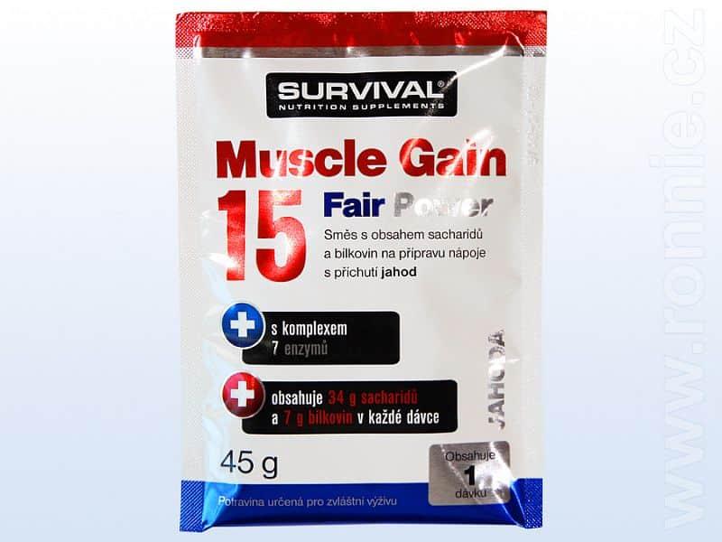 Muscle Gain 15 Fair Power - vzorek (45 g) (KOPIE)