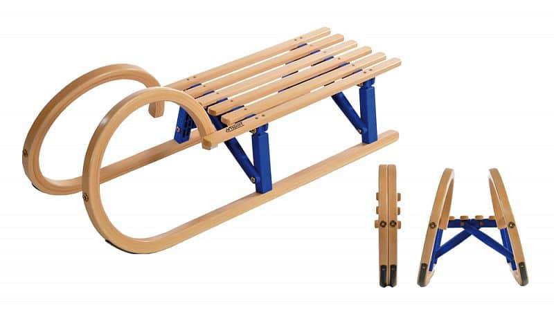 Sáňky dřevěné Horner 100cm - skládací