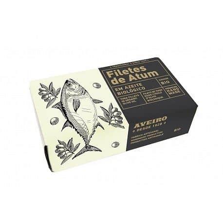 Filety z tuňáka v olivovém oleji AVEIRO BIO 120g
