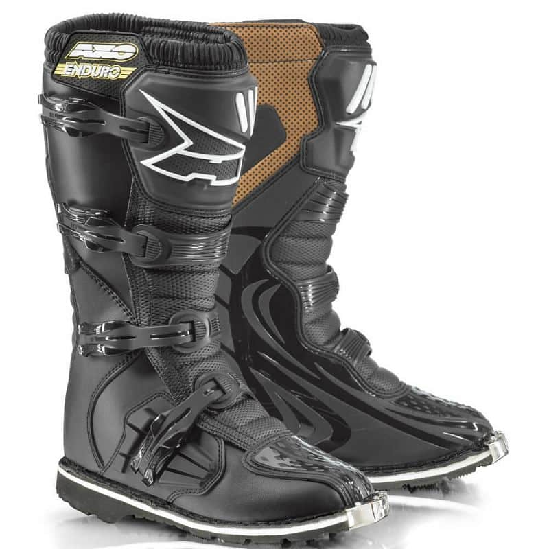 Motokrosové boty AXO Drone Enduro Barva černá, Velikost 40