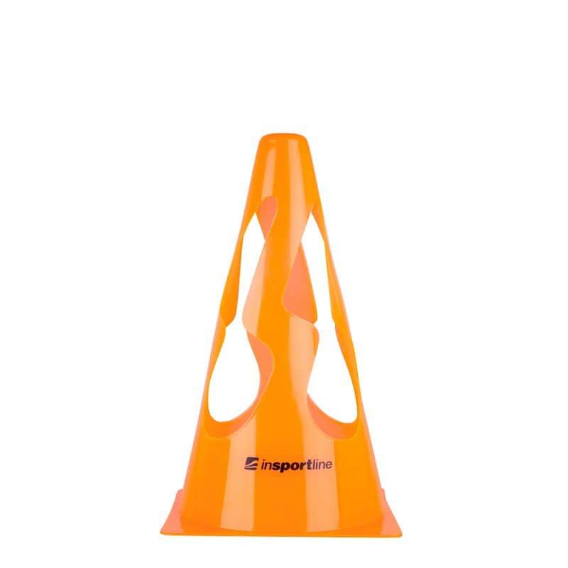 Plastový tréninkový kužel inSPORTline UP9 23cm