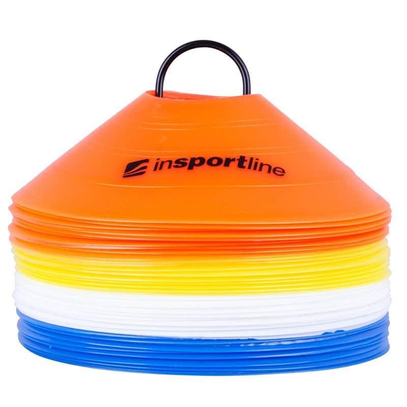 Plastové tréninkové kužely inSPORTline B40 5cm