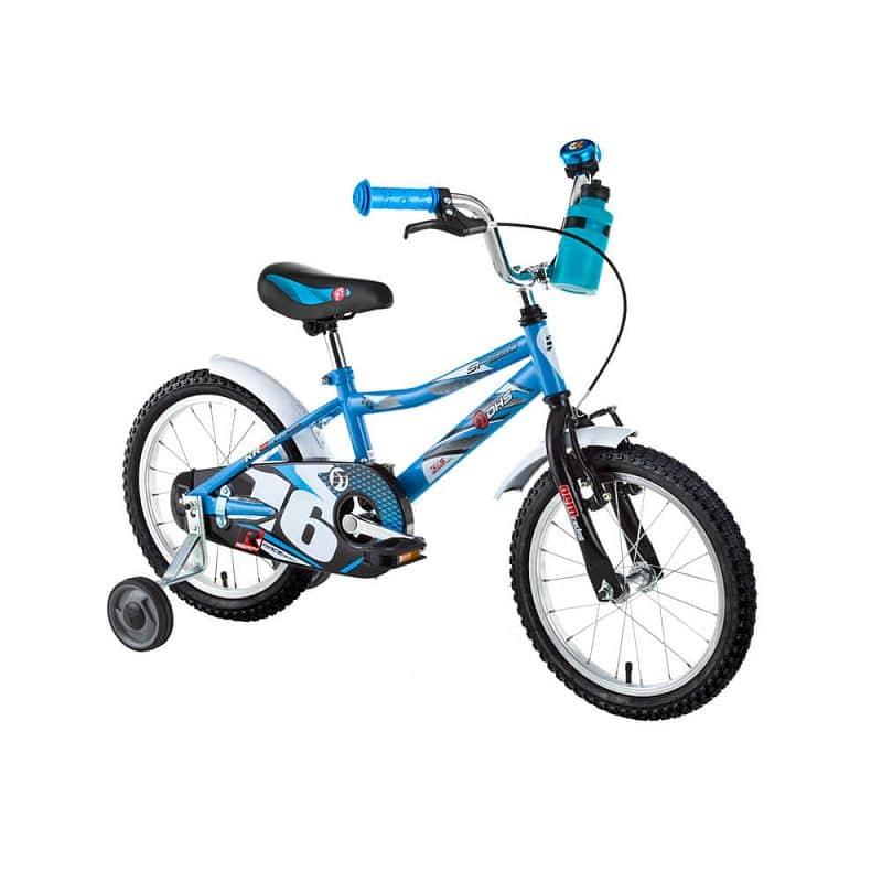 """Dětské kolo DHS Speed 1601 16"""" - model 2017 Barva Blue"""