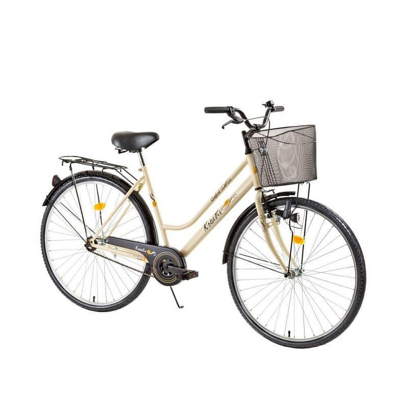 Dámské trekingové kolo Kreativ Comfort 2812 - model 2017 Barva Ivory