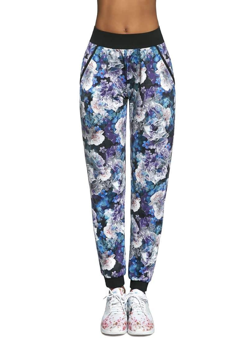 Basbleu dámské sportovní kalhoty Chalice modrofialová Velikost S