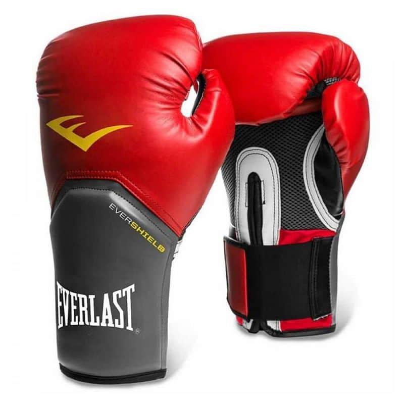 Boxerské rukavice Everlast Pro Style Elite Training Gloves Barva červená, Velikost XS (8oz)