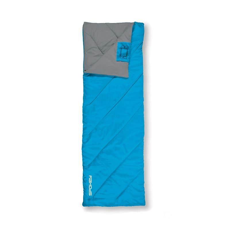 COZY II Spací pytel deka, modrý, pravé zapínání