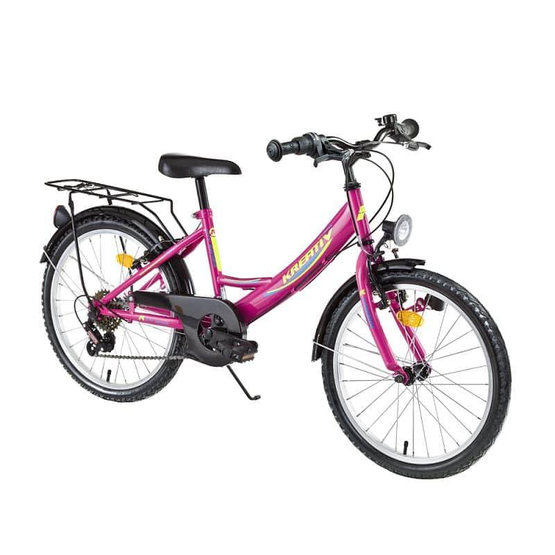 """Dětské kolo Kreativ 2014 20"""" - model 2017 Barva Pink"""
