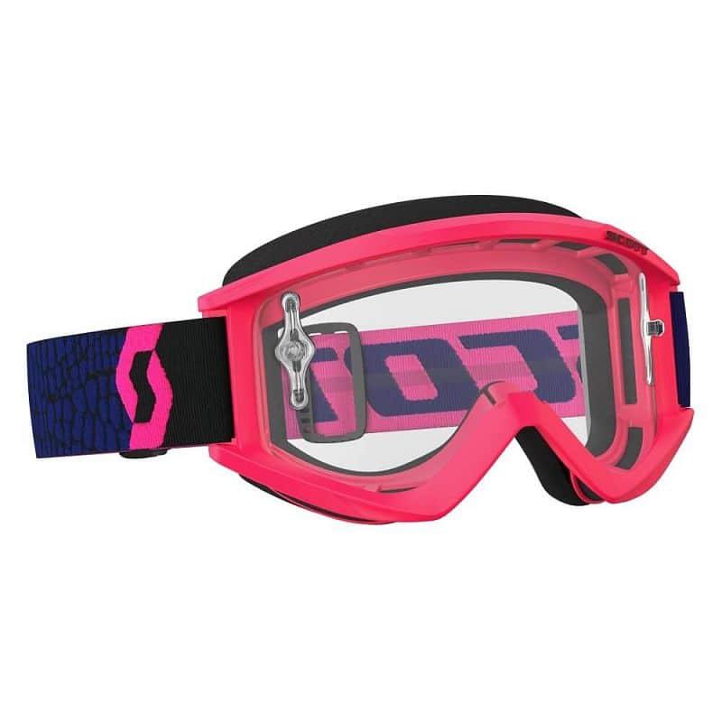 Motokrosové brýle SCOTT Recoil Xi MXVII Clear Barva Green