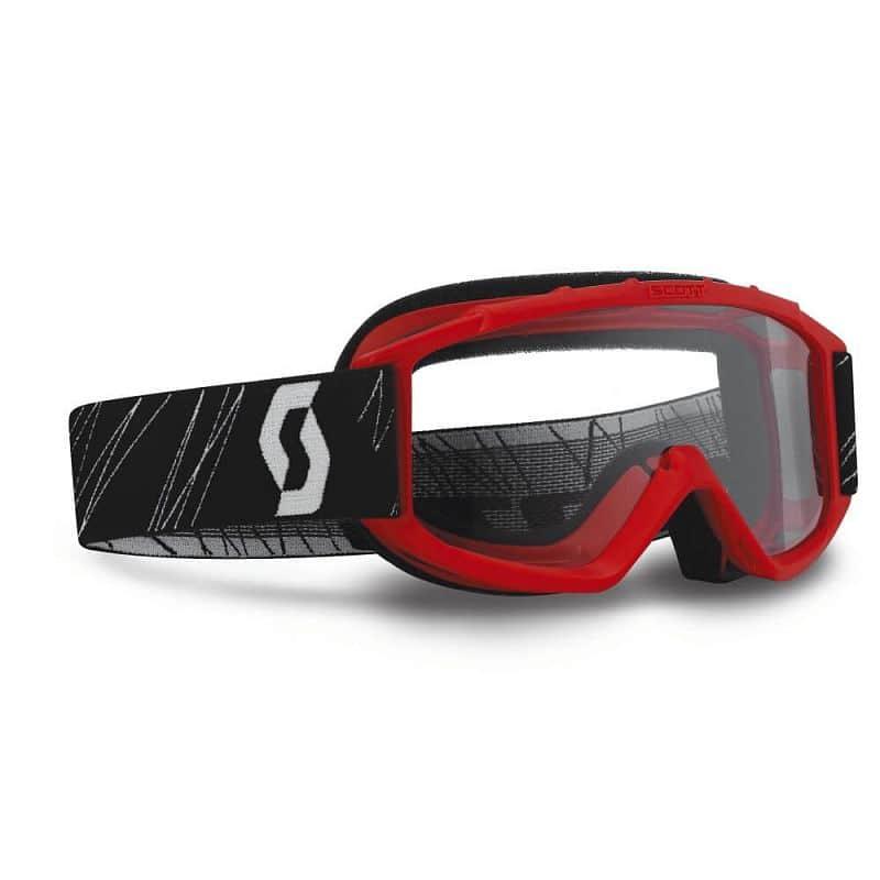 Dětské moto brýle SCOTT 89Si MXVII Barva Red