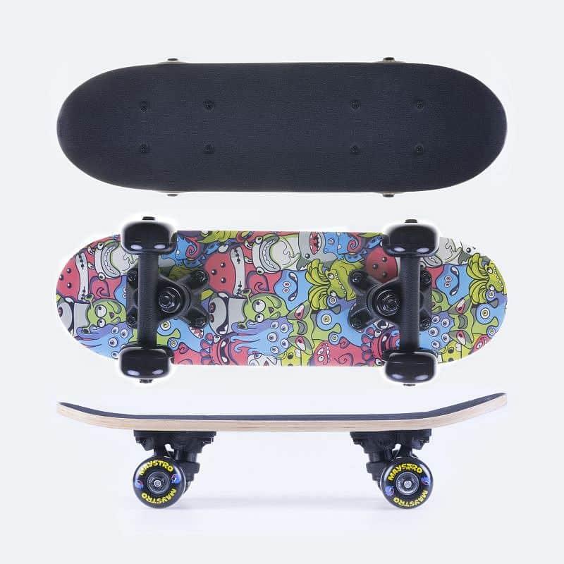 MAYSTRO Skateboard mini 43 x12,5 cm