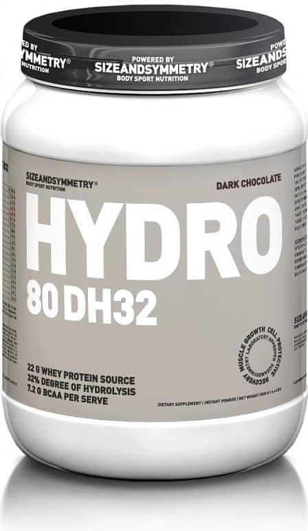 SizeAndSymmetry Hydro 80 DH32 2000 g Hořká čokoláda 2000g