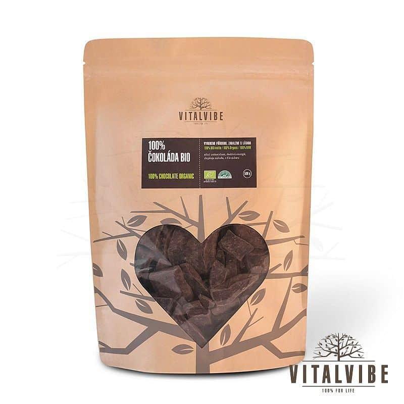 Čokoláda 100% BIO 500 g