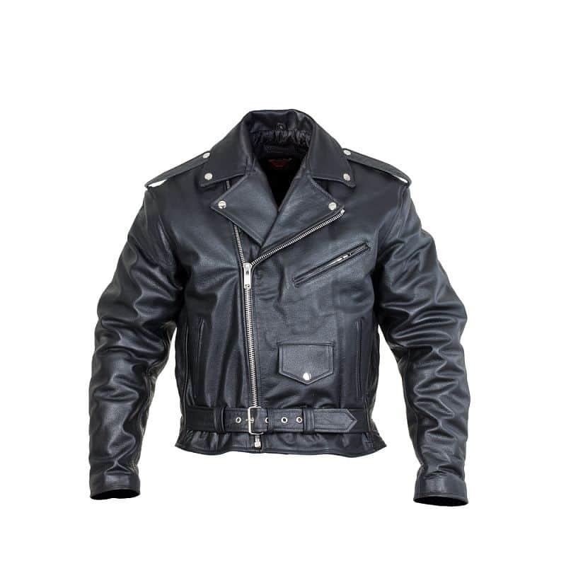 Kožená moto bunda Sodager Live To Ride Jacket Velikost L