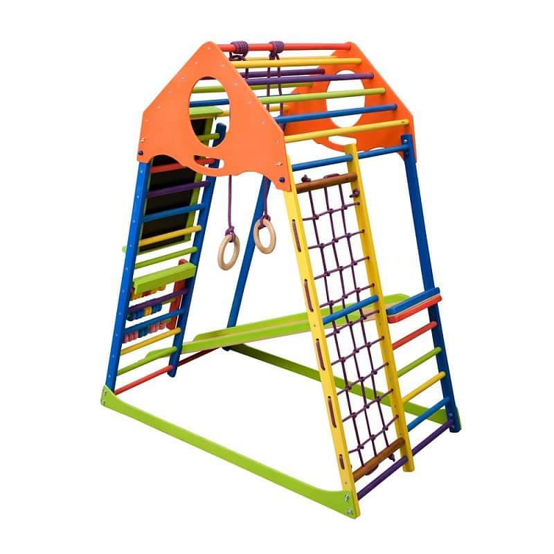 Dětská prolézačka inSPORTline Kindwood Set Plus