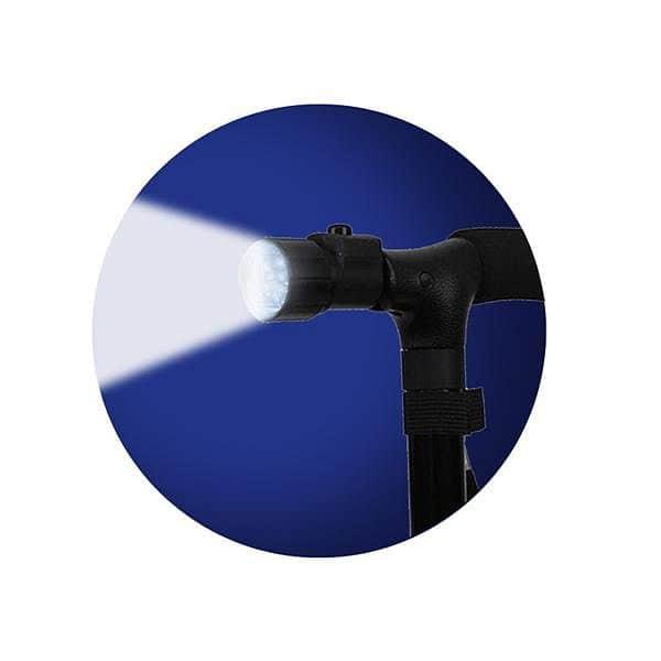 LS-2 Vycházková skládací hůl se světlem LED