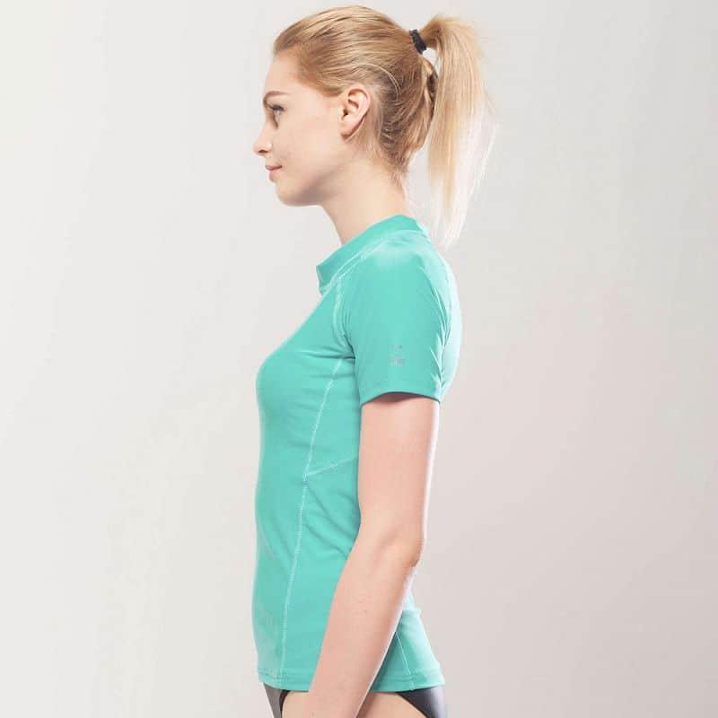 18d88851a9512 Dámske tričko pre vodné športy Aqua Marina Alluv | eFitness.sk