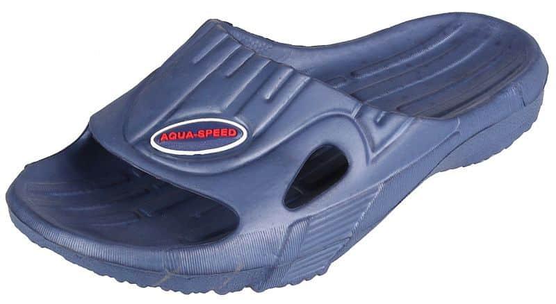 Levně Arizona pánské pantofle barva: modrá;velikost (obuv / ponožky): 45