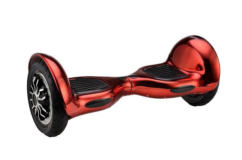 Spartan Balance Scooter červená metalíza